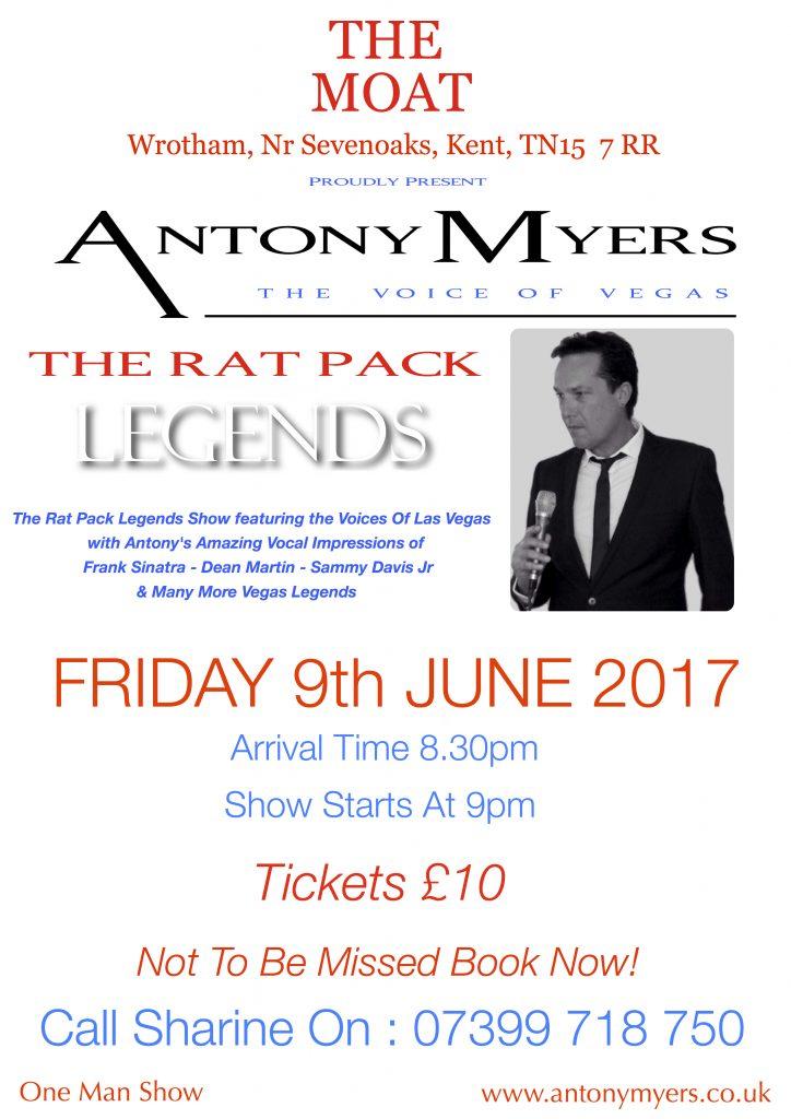 Antony Myers Frank Sinatra Tribute